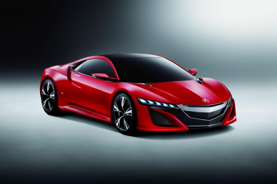 Acura NSX Concept. We are waiting for the 2016 Acura NSX on 2015 NAIAS