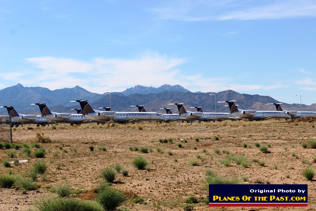 Kingman airport airplane bone yard. Photo credits: Planes of the Past