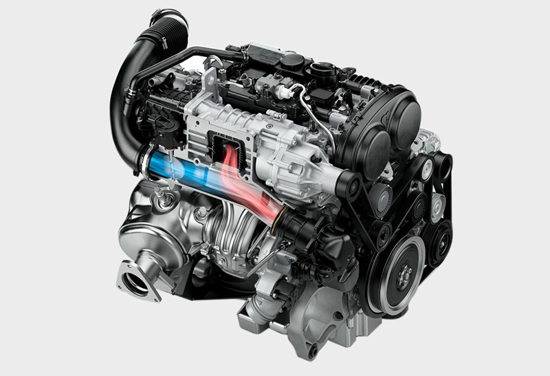 Volvo Drive E engine. Photo credits: Volvo Cars