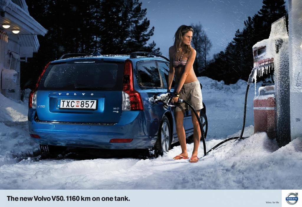 This great commercial finally makes sense. Volvo and a girl.