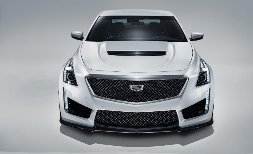 2016 Cadillac CTS-V front fascia