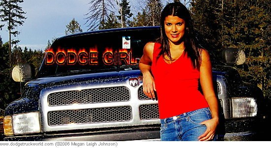 RAM truck and a hot girl