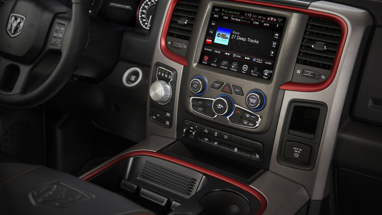 2016 RAM 1500 Rebel interior
