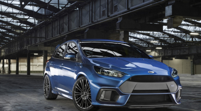 2016 Ford Focus RS USA Version Coming With Manual Transmission