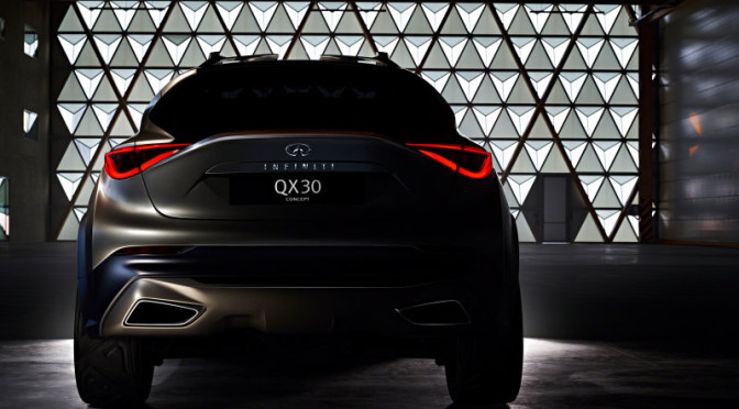 2016 Infiniti QX30 Teaser Photo Came Out
