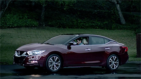 2016 Nissan Maxima Premiere on Super Bowl Commercial